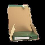 Ordner-Verpackung A4 braun 370x297x35-90