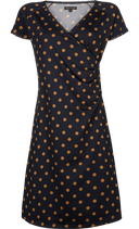 Cross Dress Partypolka - dark navy - King Louie