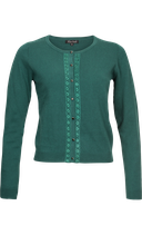 Cardi Roundneck Borealis - peacock green - King Louie
