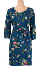 Billie Dress secret Garden - orient blue - King Louie