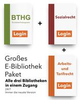 Großes E-Bibliothek Paket: BTHG + Sozialrecht + Arbeits-& Tarifrecht