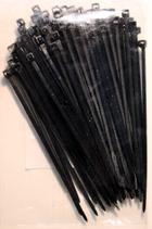 Kabelbinder schwarz, 100x2,5mm, 100 Stück