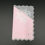 Carte Cœur en dentelle de papier