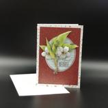 Carte 3D Fleurs de cerisier