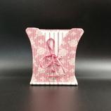 Pot corset rose vintage