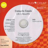 """Consuelo Casula """"Life is Beautiful"""" 1 DVD ca. 56 min. Spielzeit (Deutsch und Englisch)"""