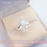 Anillo butterfly microp  mf