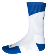 PEAK Socks White / Royal