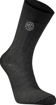 MG solid socks [black]