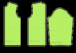Einfacher Oberkörpergrundschnitt und Ärmel