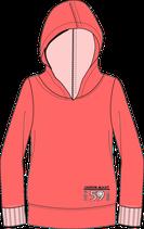 Hoodieland- Grundschnitt, Ärmel und Kapuze