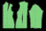 Figurbetonter Oberkörpergrundschnitt u.Blusenärmel für Webstoffe (Mi-So)