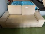Sofa 2er Sitz beige