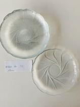 Dessertteller Glas 6 Stück