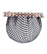 Hairnet with Pearl Clip