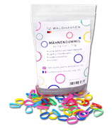 Rubber Bands for Mane Plaiting extra wide 30g