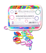 Rubber Bands for Mane Plaiting Box 75g