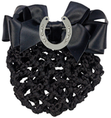 """Hairnet with clip and Brooch"""" Horse Shoe"""""""