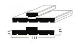 木製 内部2x4用ドア枠+ケーシング(ヘム材)運賃税込