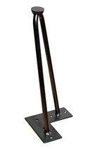 Möbelfuß für Palettenmöbel | 4 Stück | Hairpin | Eisenfüße | Haarnadelbeine