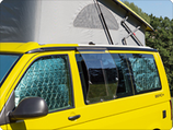 AIRSCREEN VW T6: Frischluft auch bei Regen.