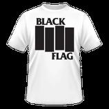 Black Flag - Logo white