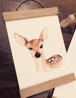 Poster fawn A5
