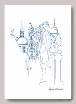 Illustration Muse Opéra de Lyon vue Hôtel de ville A3