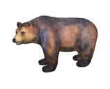 RI4D83 Bär Figur lebensgroß sitzt