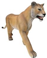 RIA810 Löwin Figur lebensgroß