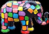 RISCA001 Elefant Figur bunt