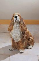 RIF216 Cocker Spaniel Hund Figur
