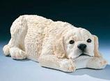 RIF341 Golden Retriver Hund Figur