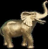 GZC004 Elefant goldfarben