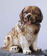 RIF60 Bernhardiner Hund Figur