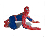 RIR2001 Spiderman Figur lebensgroß