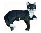 RIB127 Katze Figur auf Kante