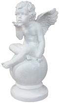 90360 Engel Figur mit Kusshand