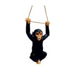 RIB301 Affe Figur hängt am Seil