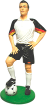 50030 Fußballer Figur lebensgroß