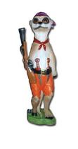 RIA1495 Erdmännchen Pirat Figur