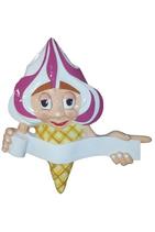 RIIIB024 Eistüte Figur zum aufhängen