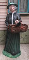 RIPO120 Frau Figur (ohne Korb)