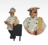 RIPO01 Koch Figur mit Tafel