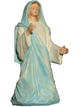 RIC195 Krippe Maria Figur fast lebensgroß