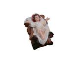 RIB029 Krippe Jesus Kind Figur groß fast lebensgroß