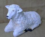 122010 Schaf Figur liegt groß