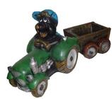 RIKR01 Maulwurf Figur Traktor klein