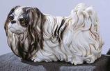 RIF90B Pekinese Hund Figur