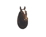 RIC86 Pferdekopf Figur lebensgroß Deko Garten Gastro Werbe Figur